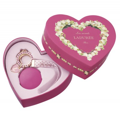 Bag Charm Ladurée Heart Box // Fruits des Bois Jasmin
