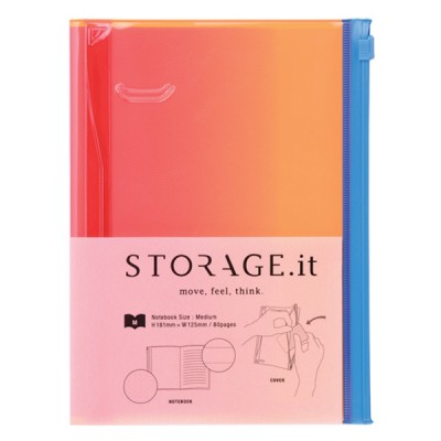 Notebook M, STORAGE.IT // Pink gradation