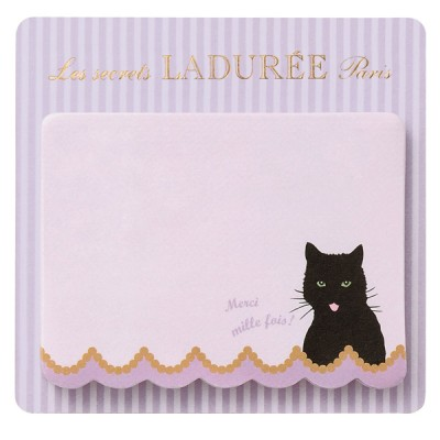 Sticky notes Ladurée // Chat