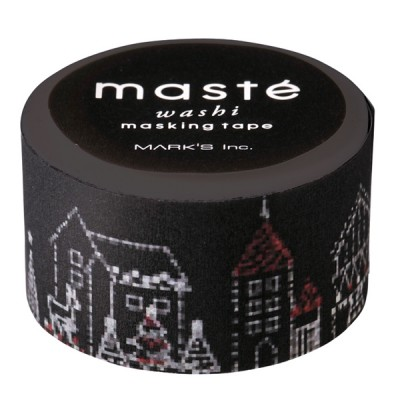 Masking tape// Xmas, Christmas illumination