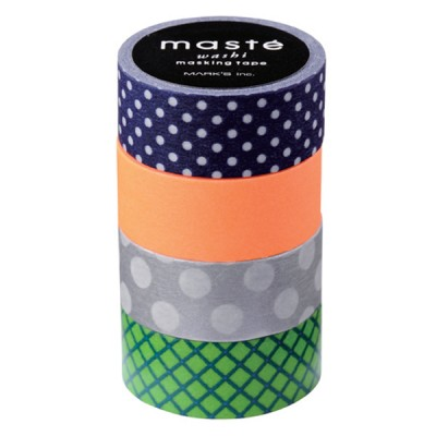 Masking Tape Mix B - Set of 4 Rolls