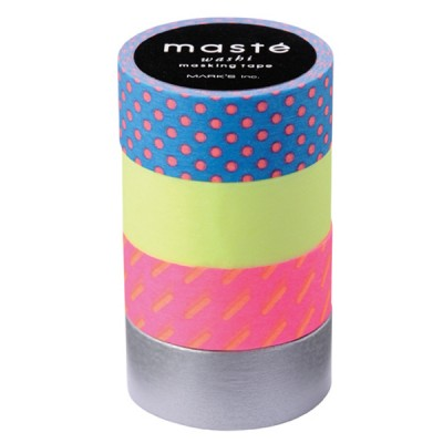 Masking Tape Mix C - Set of 4 Rolls