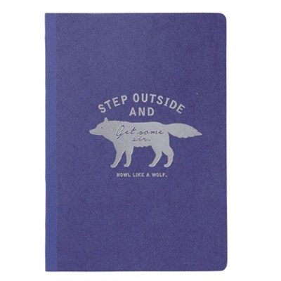 A5 Notebook Wolf Collection