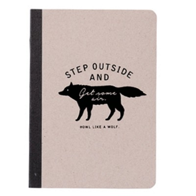 A6 Notebook Zakka Collection - Gray / Wolf