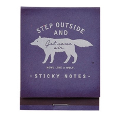 Sticky Notes Zakka Collection - Navy / Wolf