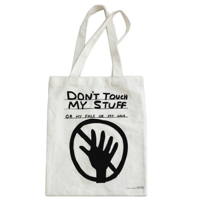 Don't Touch My Stuff Tote Bag David Shrigley