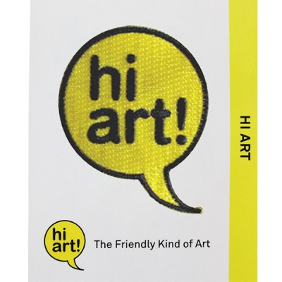 Hi Art Pins and Patches