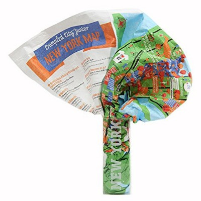 Junior Crumpled City Maps