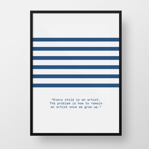 Striped / Artist Quotes