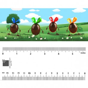 Jumping Easter Eggs Bookmark