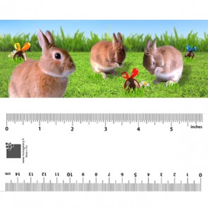 Easter Rabbits Bookmark