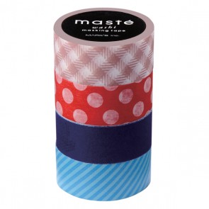 Masking Tape Mix E - Set of 4 Rolls