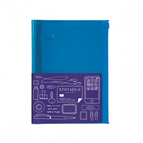 Notebook L, STORAGE.IT // Solid blue