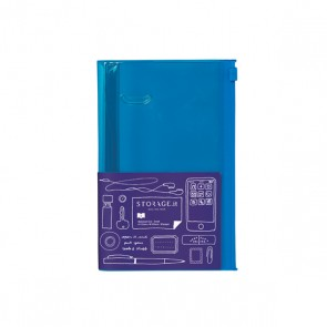 Notebook S, STORAGE.IT // Solid blue