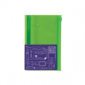Notebook S, STORAGE.IT // Solid green