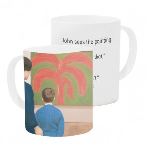 Mug #4 John Sees The Painting