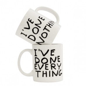 I've Done Everything Mug David Shrigley