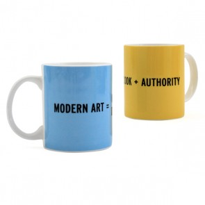 CRAIG DAMRAUER MODERN ART FINE BONE CHINA MUG